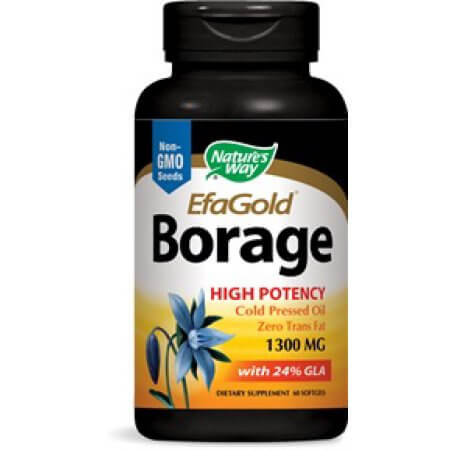 you can use nature's way borage oil for acne