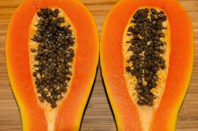 Papaya for chicken pox scar removal