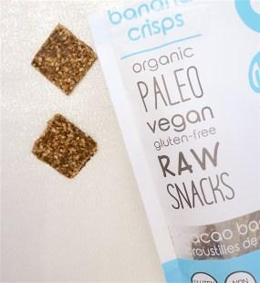 Nud Fud Organic Vegan Cocoa Banana Crisps - FAIR/SQUARE vegan chocolate gift basket beautyiscrueltyfree.com
