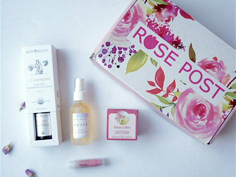 Rosepost Box - beauty box subscriptions - mom subscription box - subscription boxes for moms - unboxing subscription box review | beautyiscrueltyfree.com