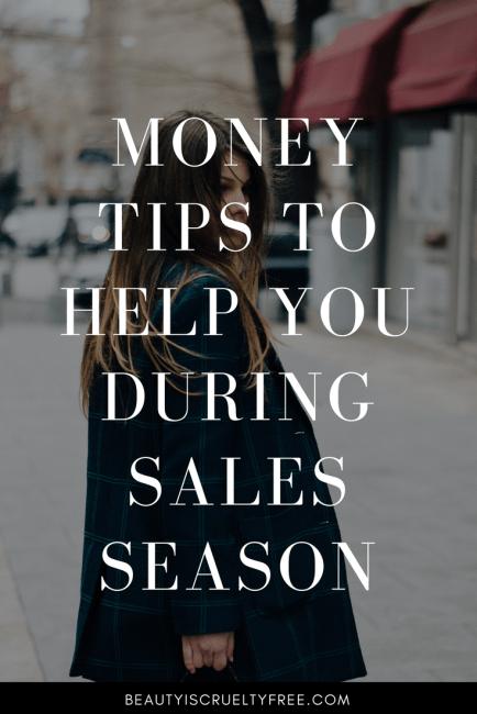 Money Tips To Help You During Sales Season | BeautyIsCrueltyFree Cruelty-free beauty blog vegan makeup vegan beauty blog | beautyiscrueltyfree.com
