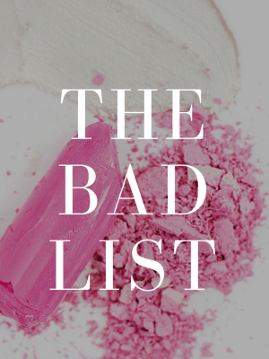 the bad list -cosmetic companies that test on animals - avoid these brands | beautyiscrueltyfree.com