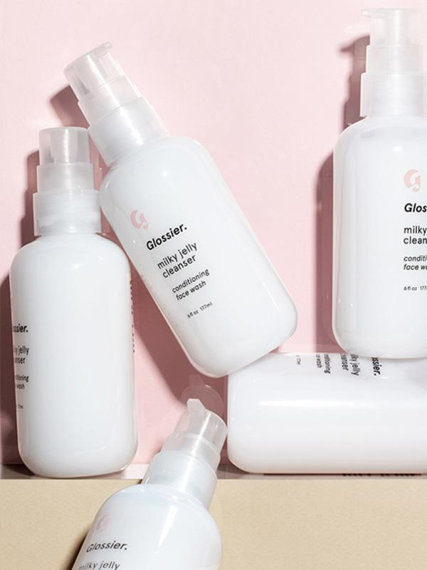 Glossier Milky Jelly cleanser sale coupon salve duo
