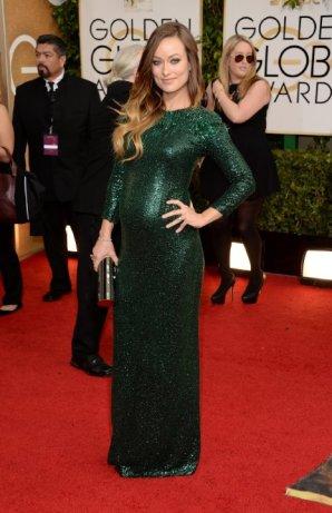 Olivia Wilde @goldenglobesaward2014. (photo from IMDb.com)