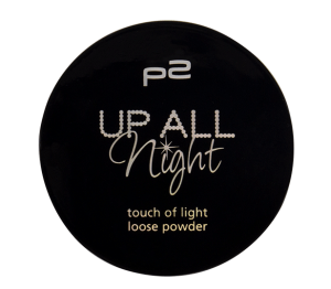"P2 ""Up all night"" - touch of light loose powder"