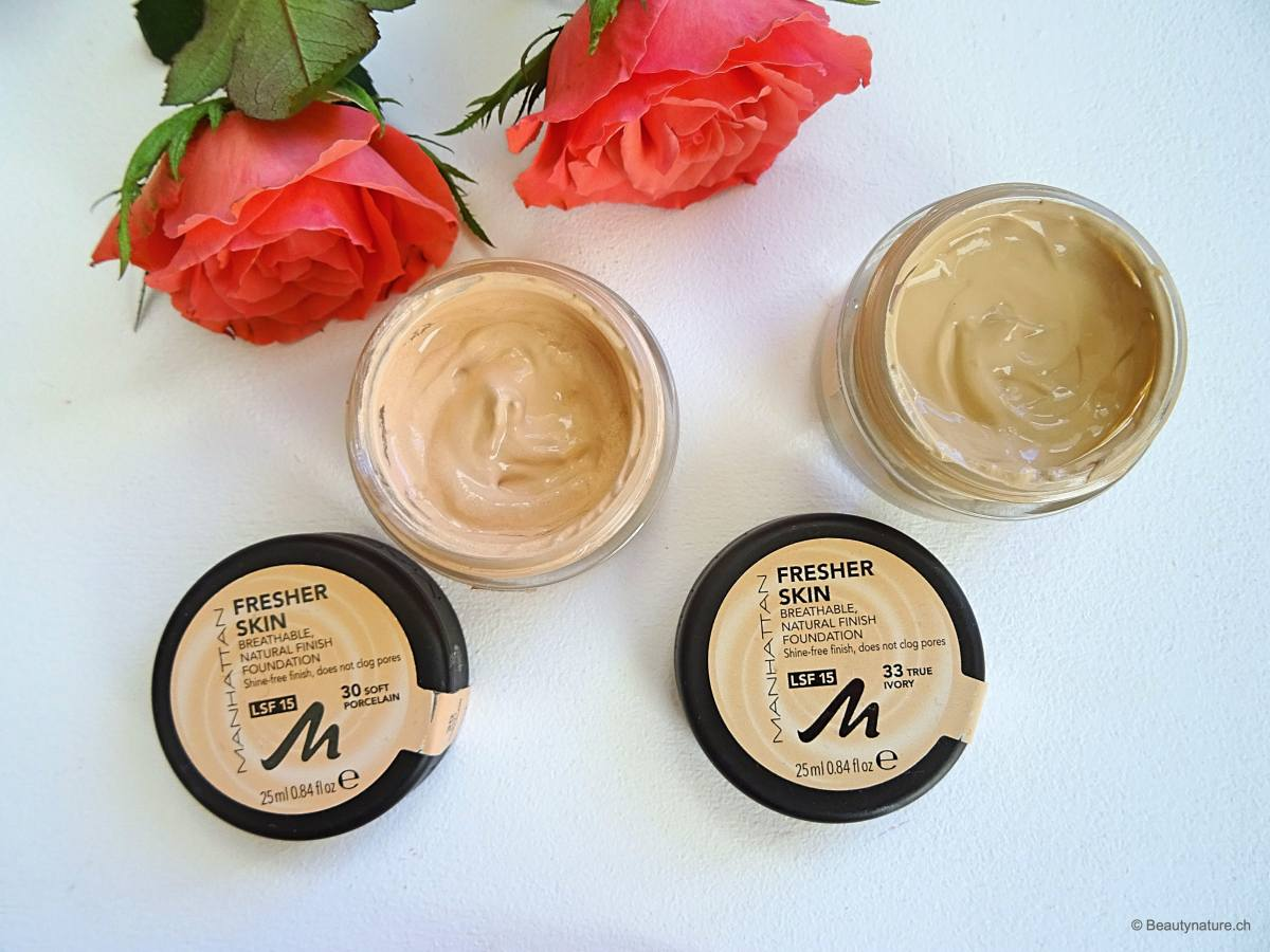 Review: MANHATTAN - Fresher Skin Foundation