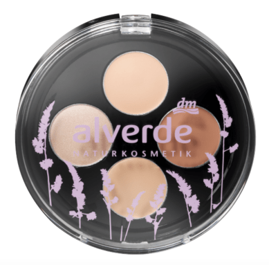 alverde - Concealer- & Highlighting-Kit