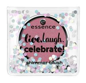 "essence - shimmer blush ""live.laugh.celebrate"""