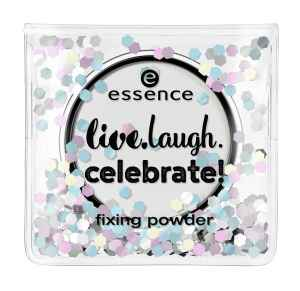 "essence - fixing powder ""live.laugh.celebrate"""