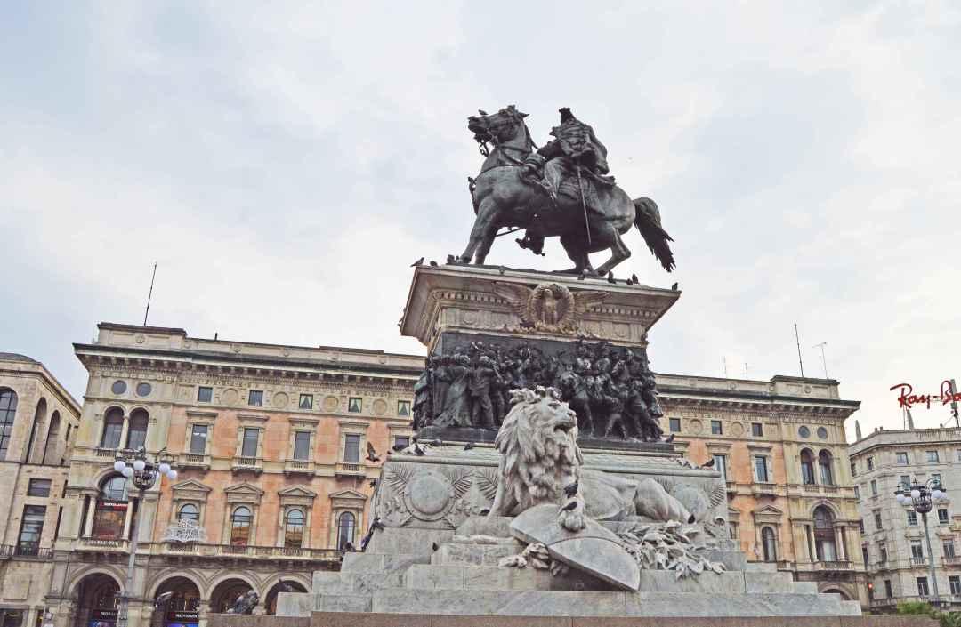 Reiterstandbild von Vittorio Emanuele II