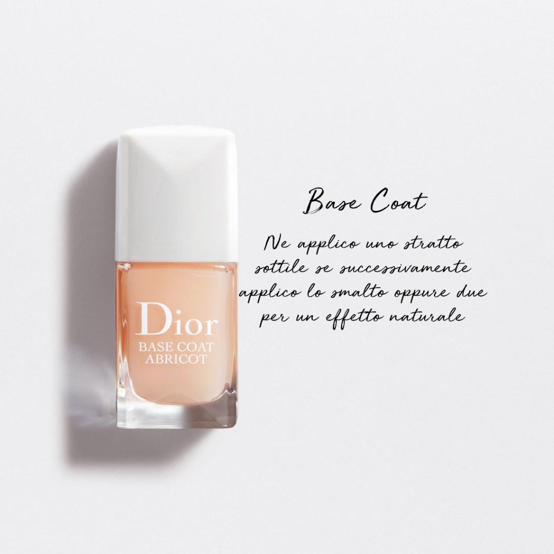 Dior Abricot manicure - base