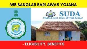 West Bengal Banglar Bari Awas Yojana Prokolpo for EWS citizens 2021 - Eligibility, List