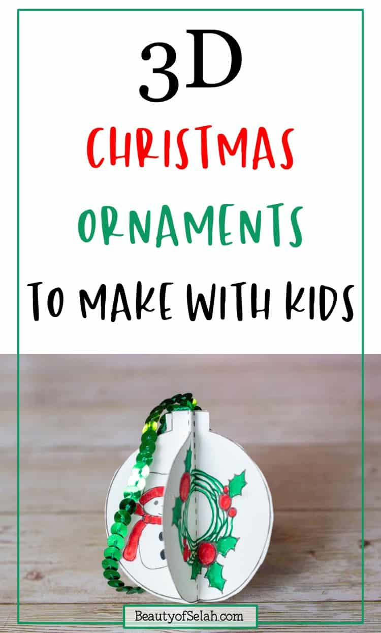 Kid Friendly DIY ornaments