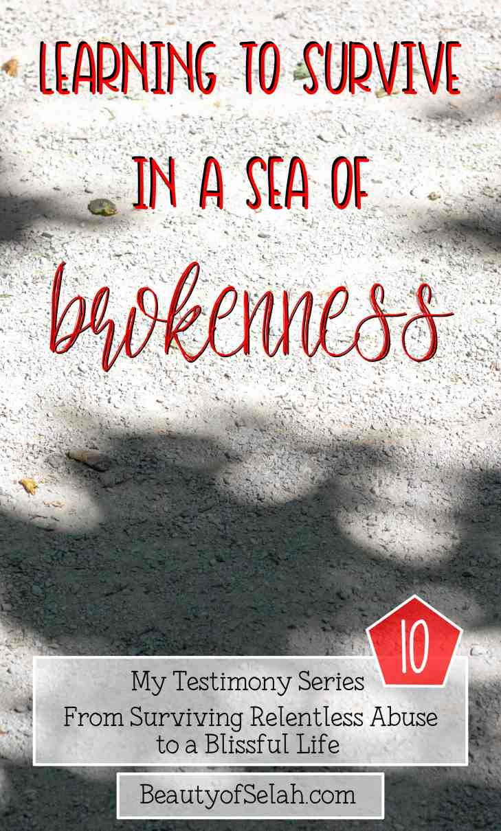 Learning to Survive in a Sea of Brokenness My testimony Series part 10