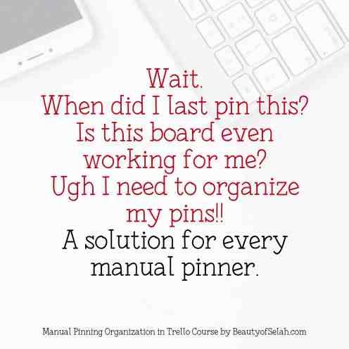 Manual Pinning in Pinterest Solution