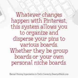 Organization in Pinterest no matter what changes! A Solution to Organizing Your pins