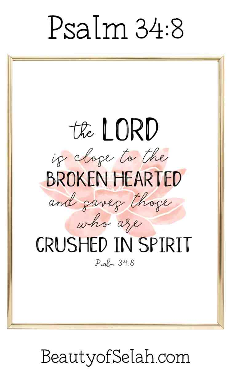 Psalm 34.8 Free Printable