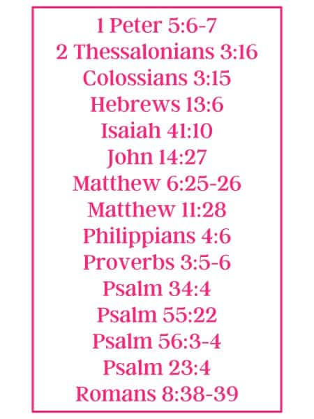 all verses listed