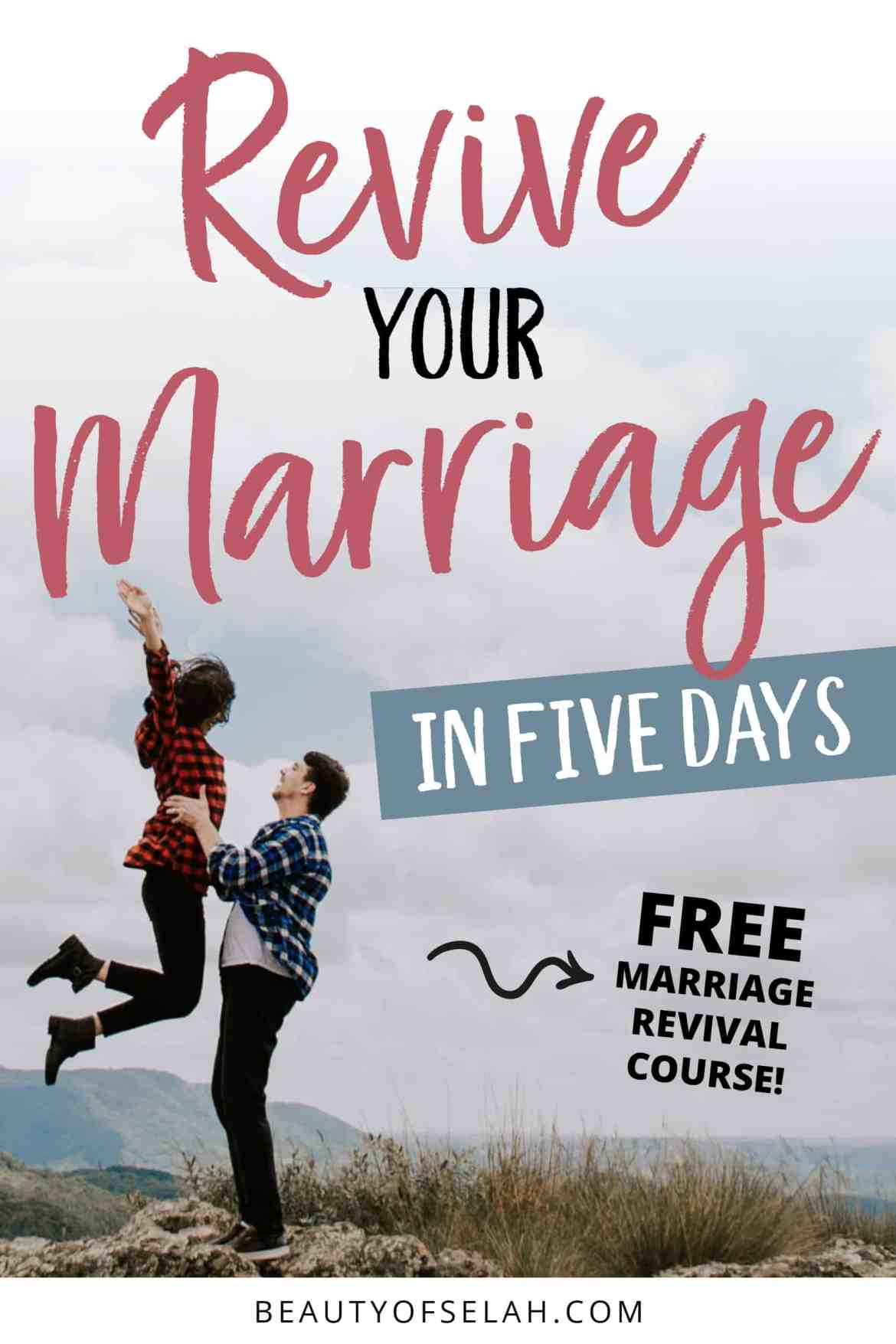 Revive your marriage in 5 days