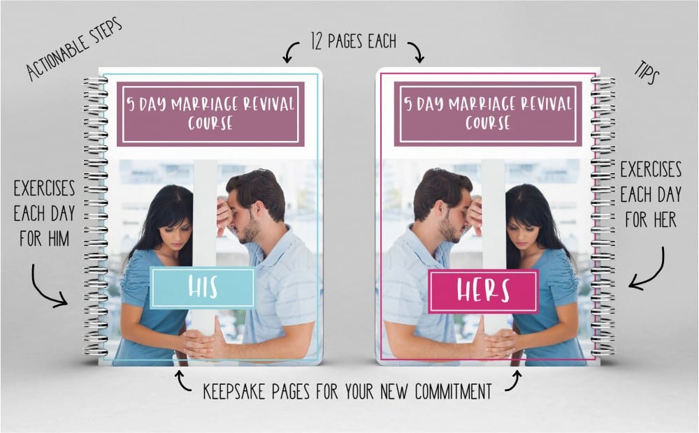 5 Day Marriage Revival Course Digital Workbooks