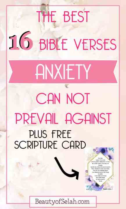 the best 16 bible verses anxiety can not prevail against