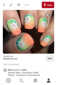 Pinterest inspired nail art