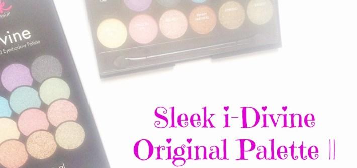 Sleek i-Divine Original Paleta || RECENZIJA