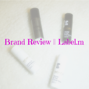 Brand Review || Label.m