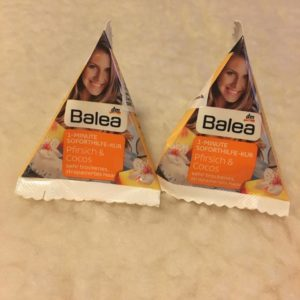 balea hair mask