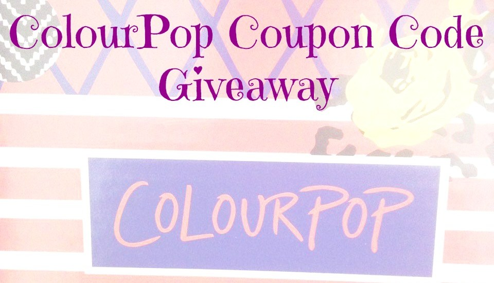 Colourpop coupon code shaaanxo