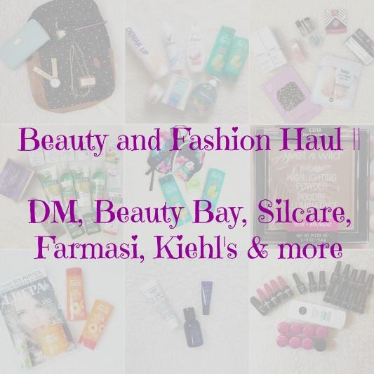beauty and fashion haul