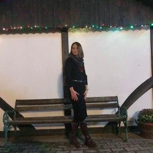 Black Knitted Ribbed Long Sleeved Midi Dress - Ellie