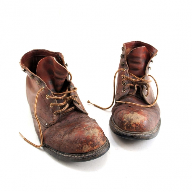 Rugged boots