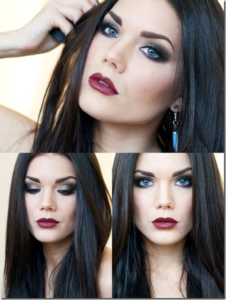blue eyes makeup 891