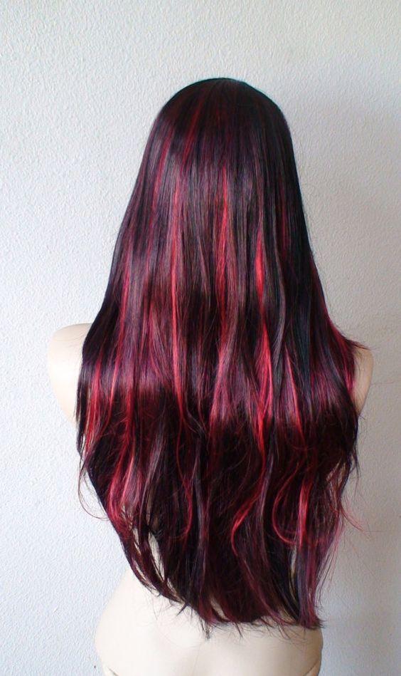 red-highlights-black-hair-8