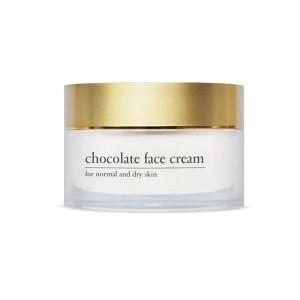 YELLOW ROSE <br /> Prabangus 24 val. šokolado kremas, normaliai bei sausai odai – Chocolate face cream, 50ml