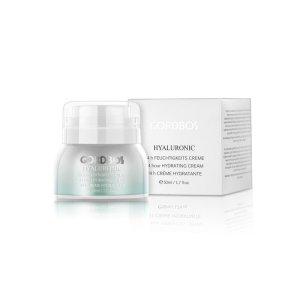 GORDBOS <br />Drėkinamasis veido kremas su hialuronu – Hyaluronic 24 hour cream, 50ml
