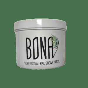BONA Medium cukraus pasta depiliacijai, vidutinio kietumo konsist. 500g.