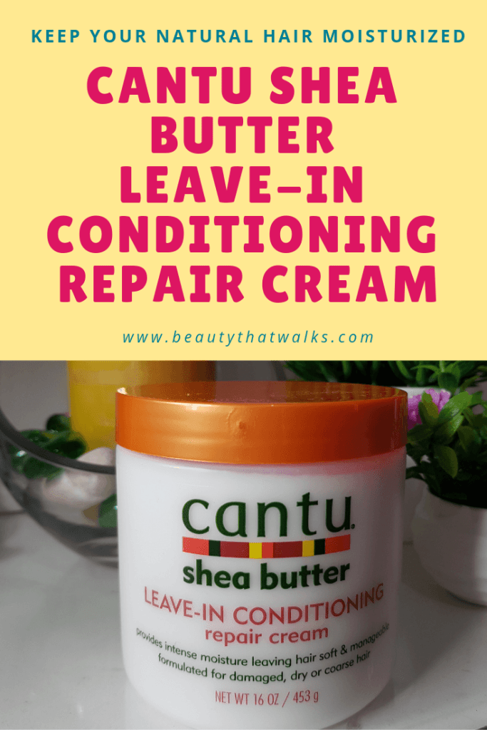 Cantu Shea Butter Leave-In Conditioning Repair Cream Review