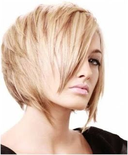 wispy edges short hairstyle
