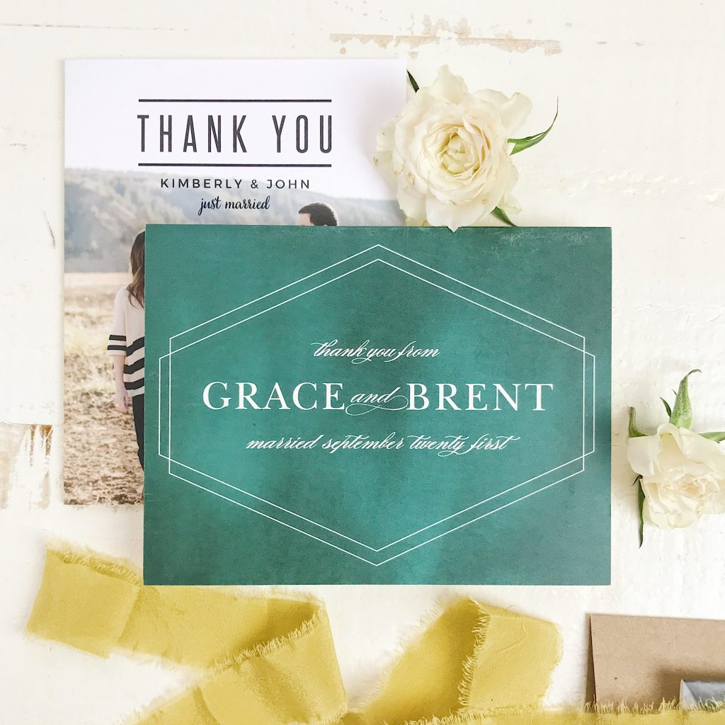 Affordable Custom Postcards When To Say Thank You With Cards