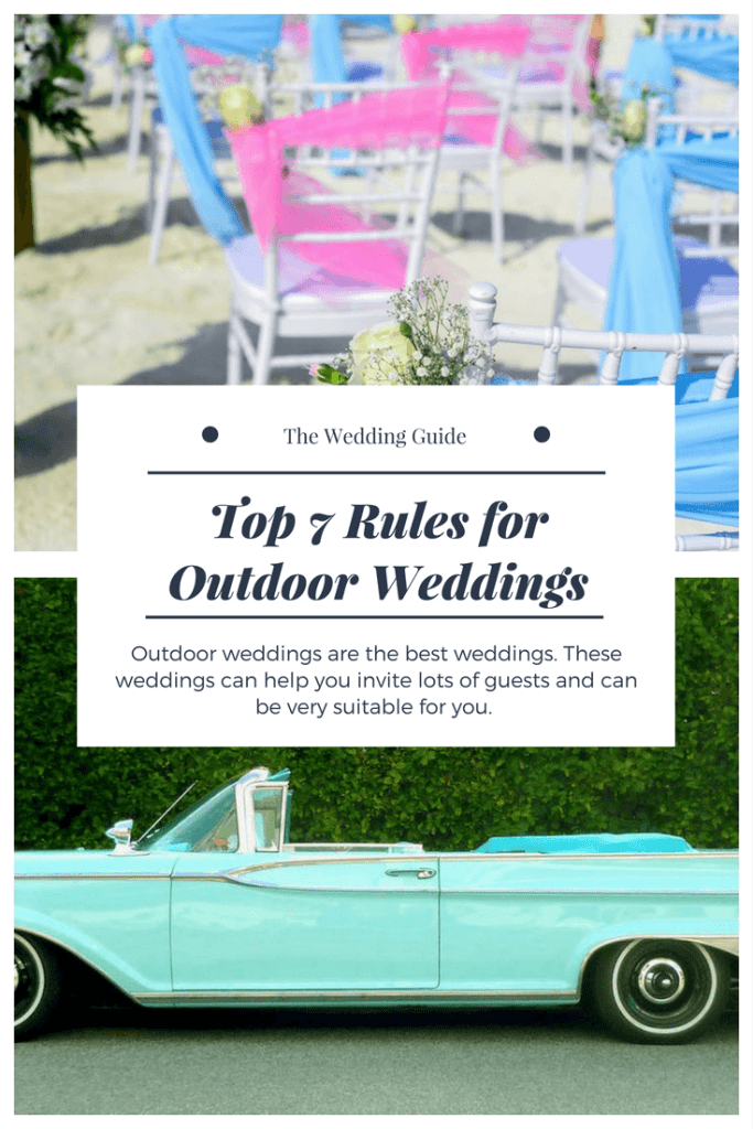 Outdoor Wedding, Reception, Antique Cars, Just married