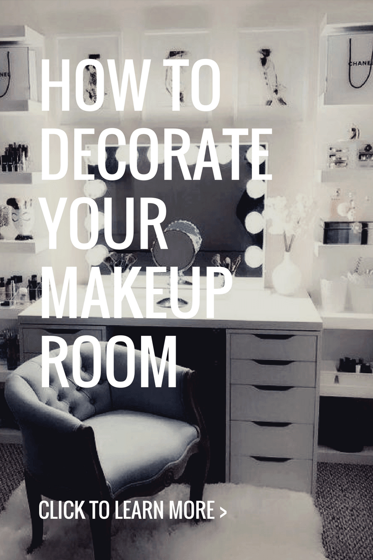 How to Decorate Your Makeup Room , Beauty That Walks