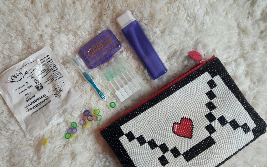 braces, dental assistant, toothbrush, floss threader, elastics, proxabrush