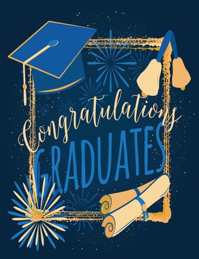 congratulations graduates backdrop