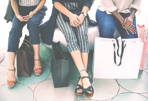 shopping, friends, style, fashion