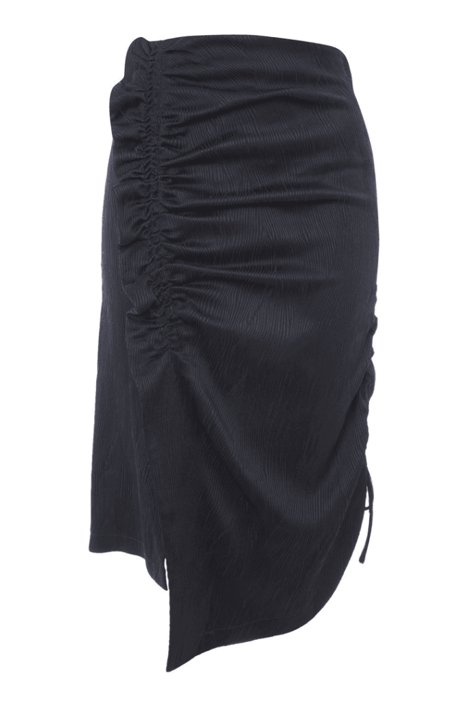 ruched skirts
