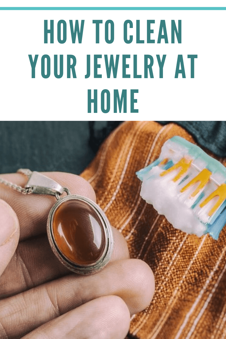 diy clean jewelry, clean jewelry at home