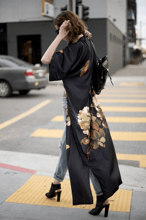 long and casual kimonos