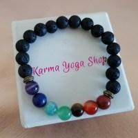 Le bracelet Guérison des 7 chakras Karma Yoga Shop